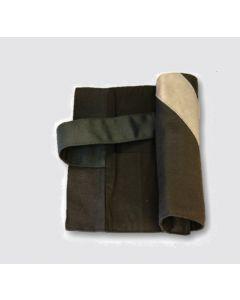 Stifterolle schwarz Reflexstreifen silber